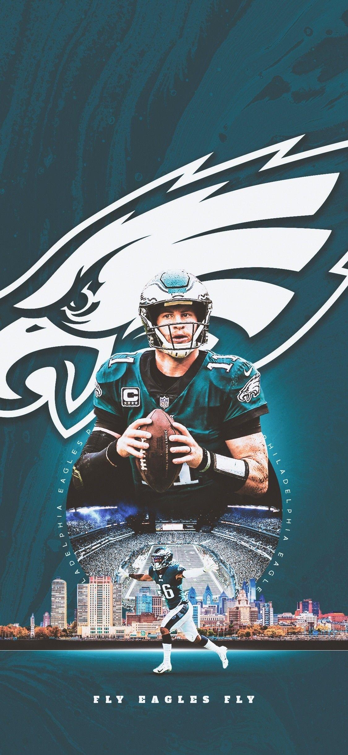 Carson Wentz Wallpaper Philadelphia Eagles Wallpaper Philadelphia Eagles Art Philadelphia Eagles