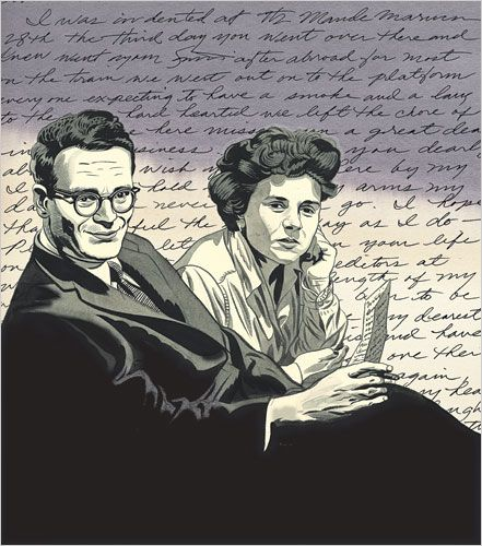 Image result for robert lowell and elizabeth bishop