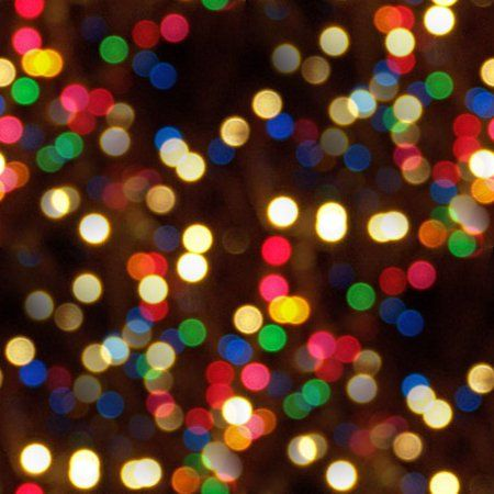 Colorful Christmas Lights Background.Colorful Christmas Lights Seamless Texture Background Image