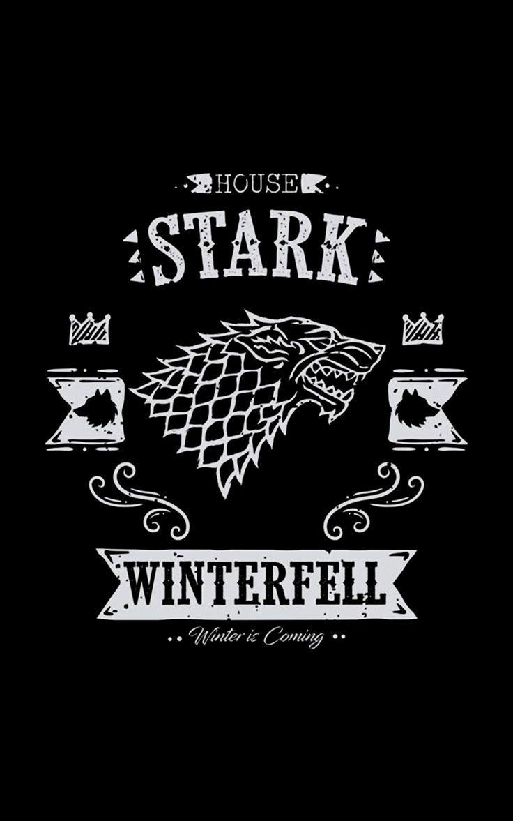 House Stark House Stark Papel De Parede Games Posteres De Filmes Desenho De Camiseta