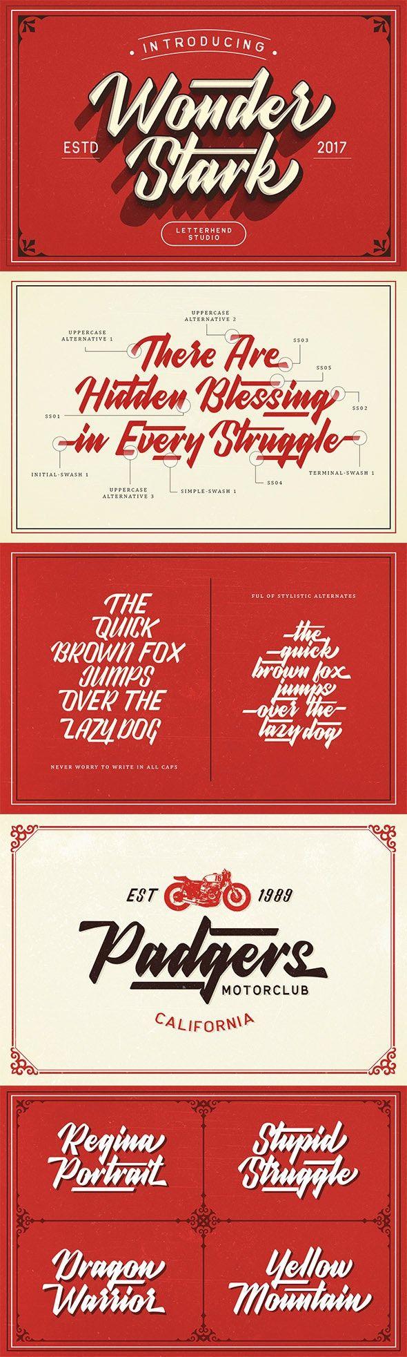 Wonder Stark Font Affiliate Stark Ad Font Lettering Fonts Hand Lettering Typography Artwork
