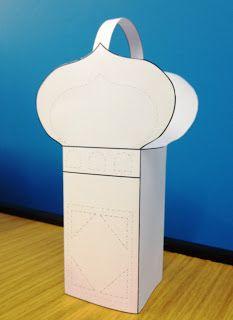 Ramadan Craft Project: Mosque-Lantern | Zaufishan
