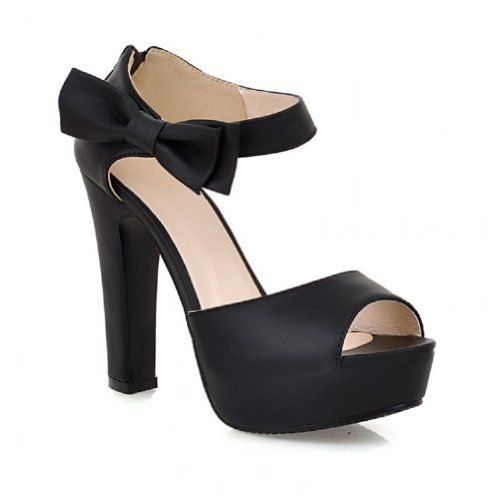 Charm Foot Fashion Bows Womens Platform High Heel Peep Toe Sandals (9.5, Black) Charm Foot http://www.amazon.com/dp/B00JR657TM/ref=cm_sw_r_pi_dp_O9jAub0BDFWZ1