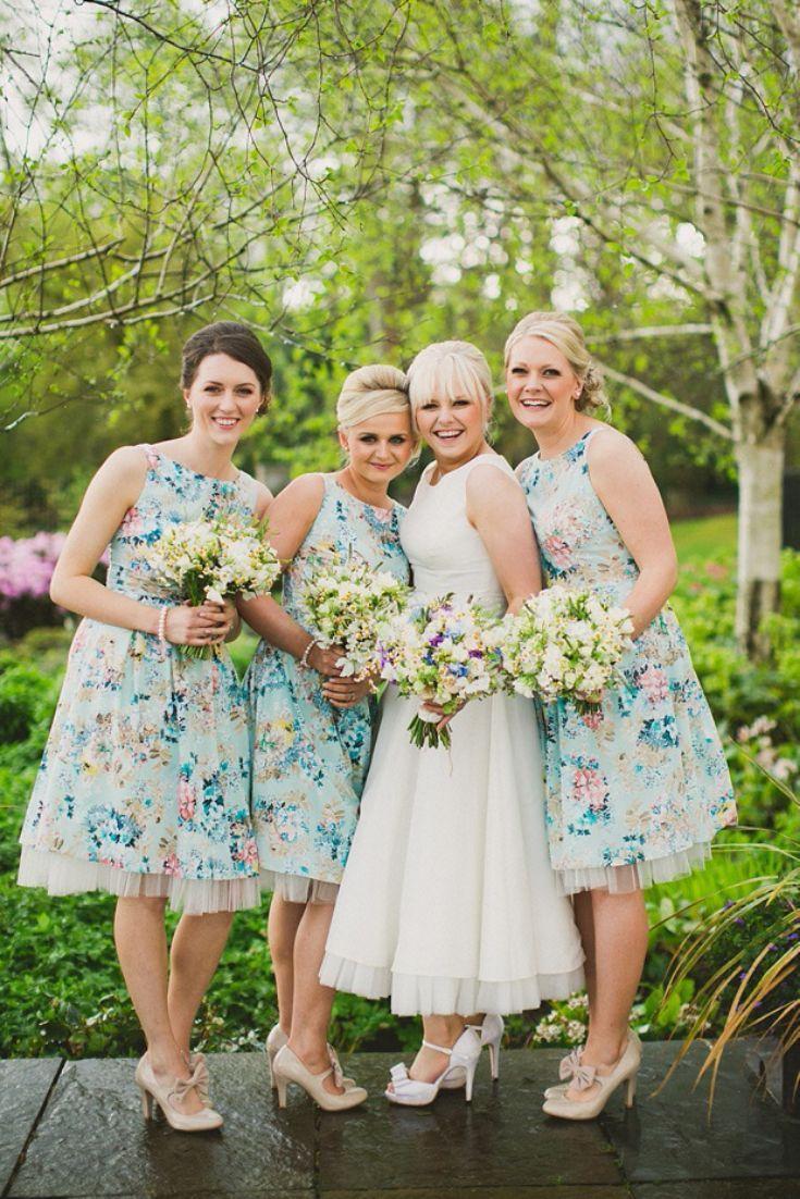 Floral print wedding dresses  Pattern Texture Shine in   My future  Pinterest  Wedding