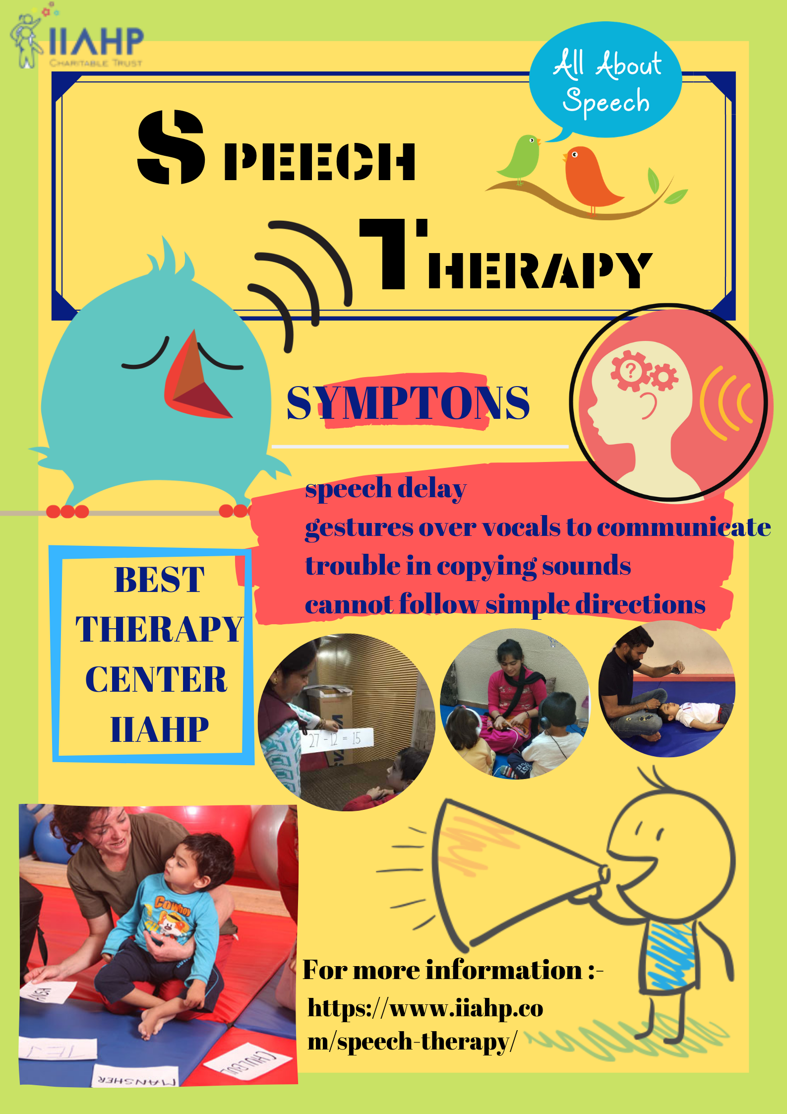 Speech Therapy | Speech therapy, Speech delay, Speech and ...