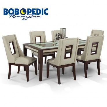 Kenzo 7 Piece Dining Set 7 Piece Dining Set Dining Set Dining Room Table