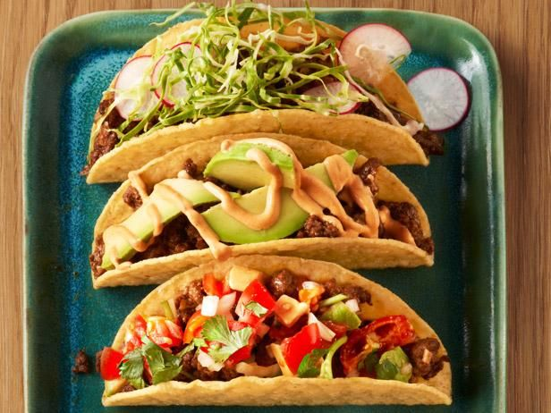 50 Tacos Recipes And Cooking Food Network Recipes Food Food Recipes