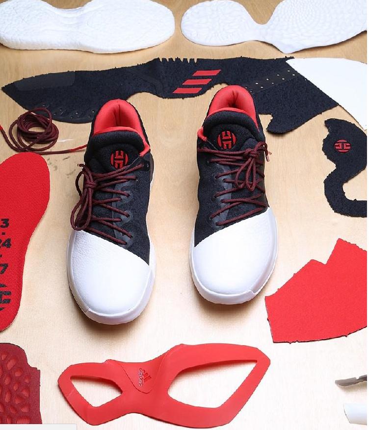 adidas primeknit boost james harden vol 1 pioneer black red white bw0546 adidas jamesharden