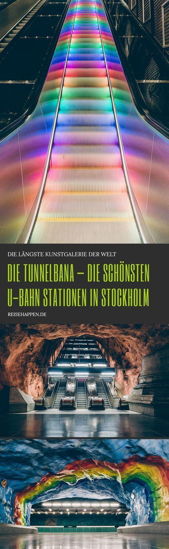 Die Tunnelbana – U-Bahn Kunst in Stockholm   Reisehappen