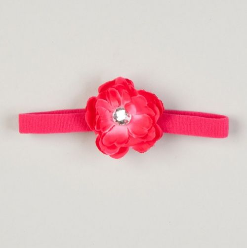 Skinny Headband With Small Flower - Little Divas - Events $4