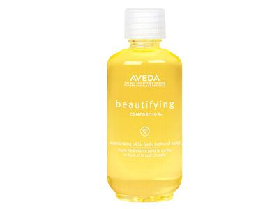 Aveda Beautifying Composition - This oil is amazing! Everyone should have some of this in there bathroom! It is so moisturizing and has multiple uses.