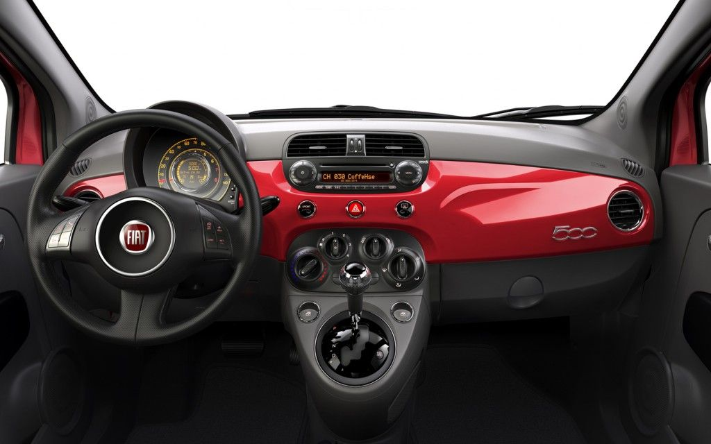 Fiat 500 Interior  Fiat  Pinterest  Fiat 500 interior Fiat 500