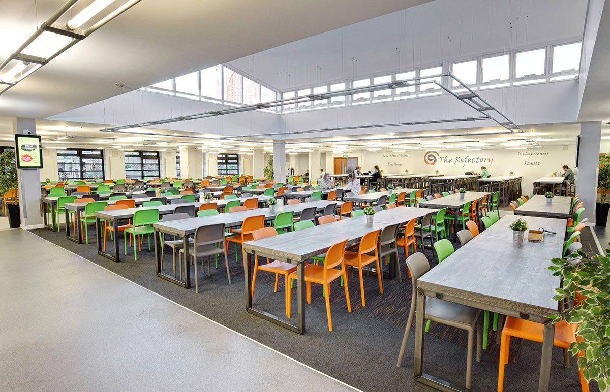 St Mary S University Cafeteria Design University Interior