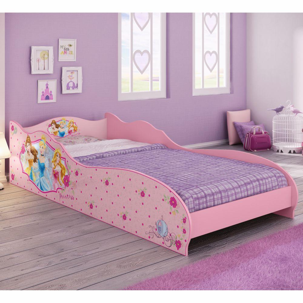 Mini cama infantil princesas disney casatema casatema for Cama infantil