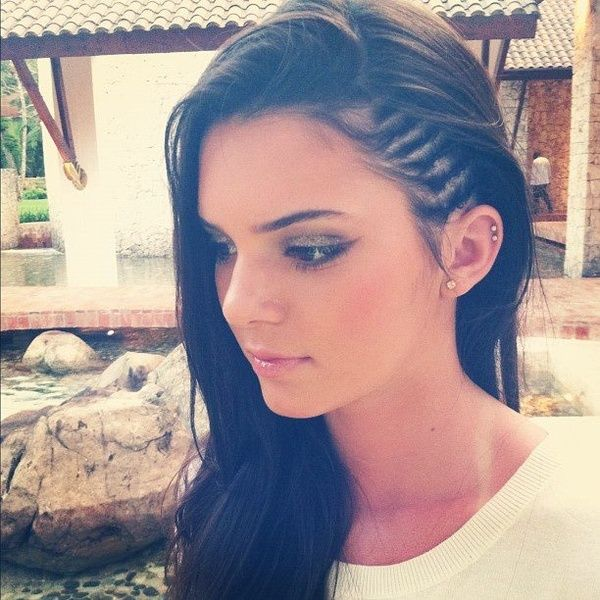 17++ Braids on the side of your head inspirations