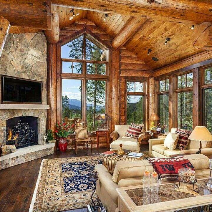 Log Cabin Kitchen Decor: #survivalthelifestraw.com €�