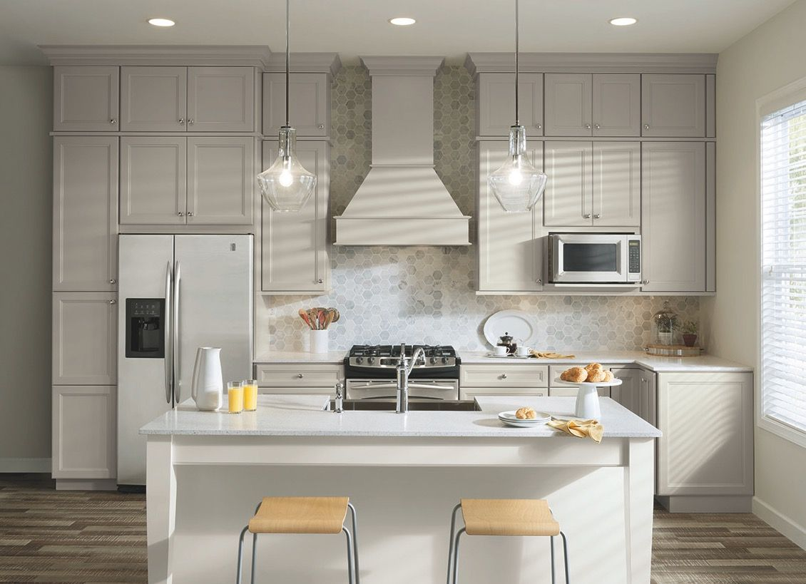 Lightcolored cabinets can now be as durable as they are beautiful