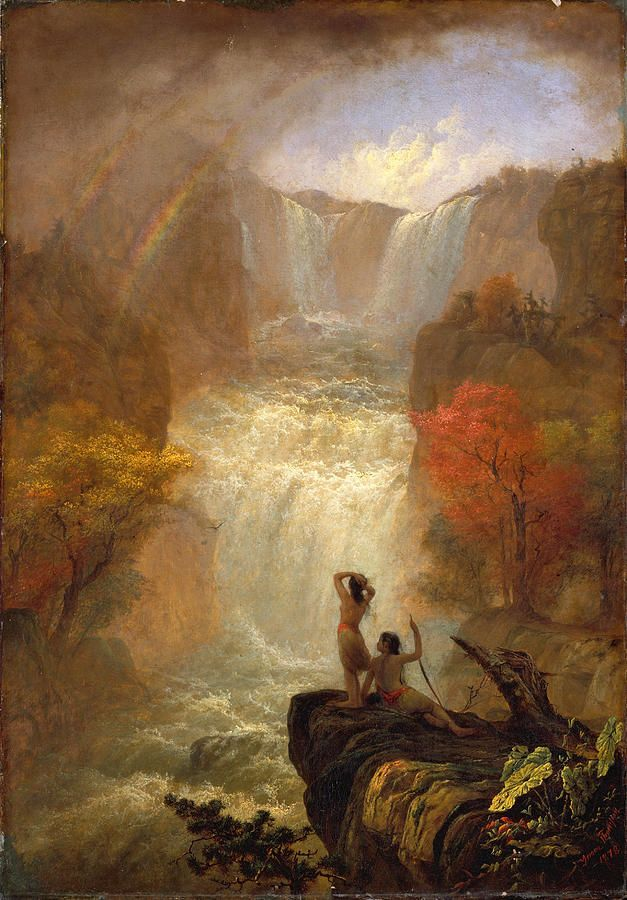 Jerome B. Thompson (1814 - 1886)Song of the Waters