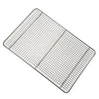 Chrome Steel 1 2 Size Sheet Pan Cross Wire Grate Cooling Rack Drip Bun Rack Cooling Racks Half Sheet Pan Artisan