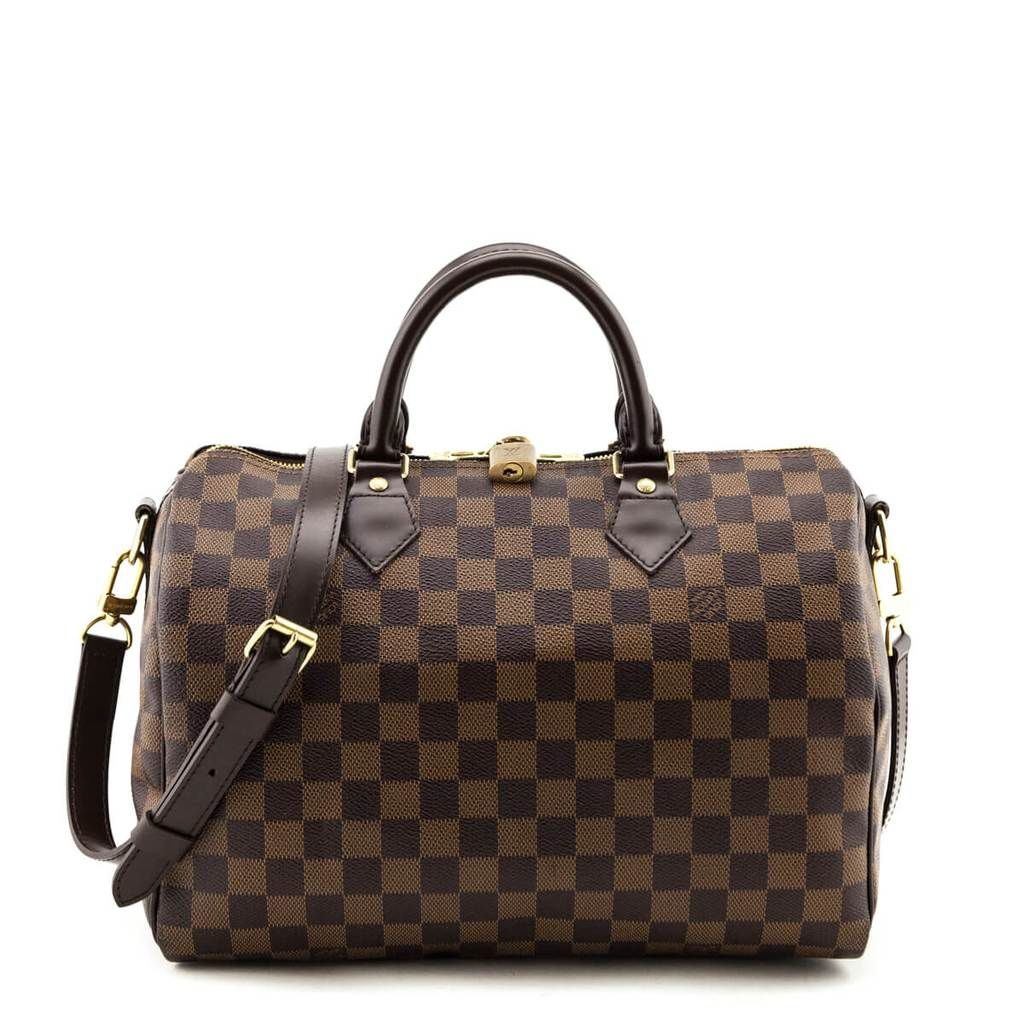 Louis Vuitton Damier Ebene Speedy 30 Bandouliere Louis Vuitton