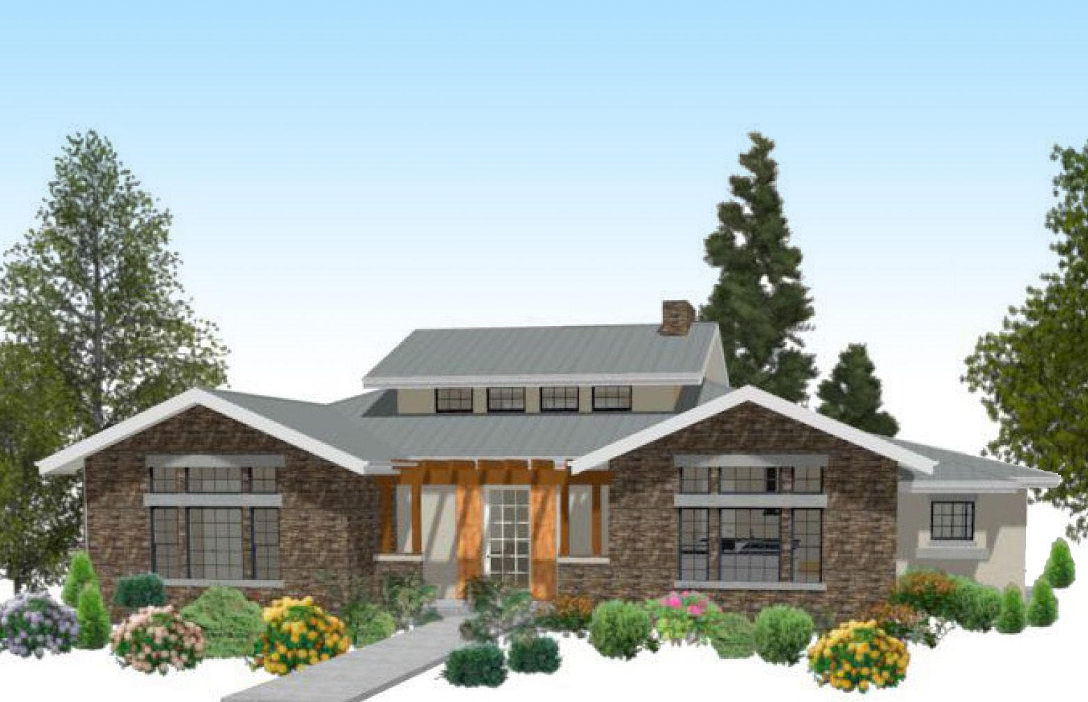 Plan 12527rs A Texas Style Ranch In 2020 House With Porch Building A Porch Porch Design