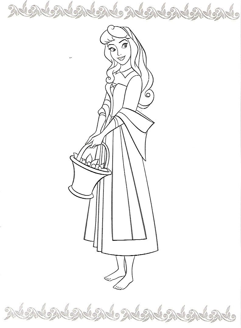 Ausmalbilder Prinzessin Dornröschen : Pin Von Melissa Eyster Auf Disney S Sleeping Beauty Pinterest