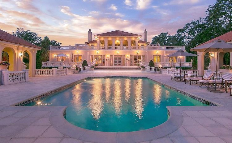 The 10 Richest Zip Codes In America Mansions Luxury Homes Dream