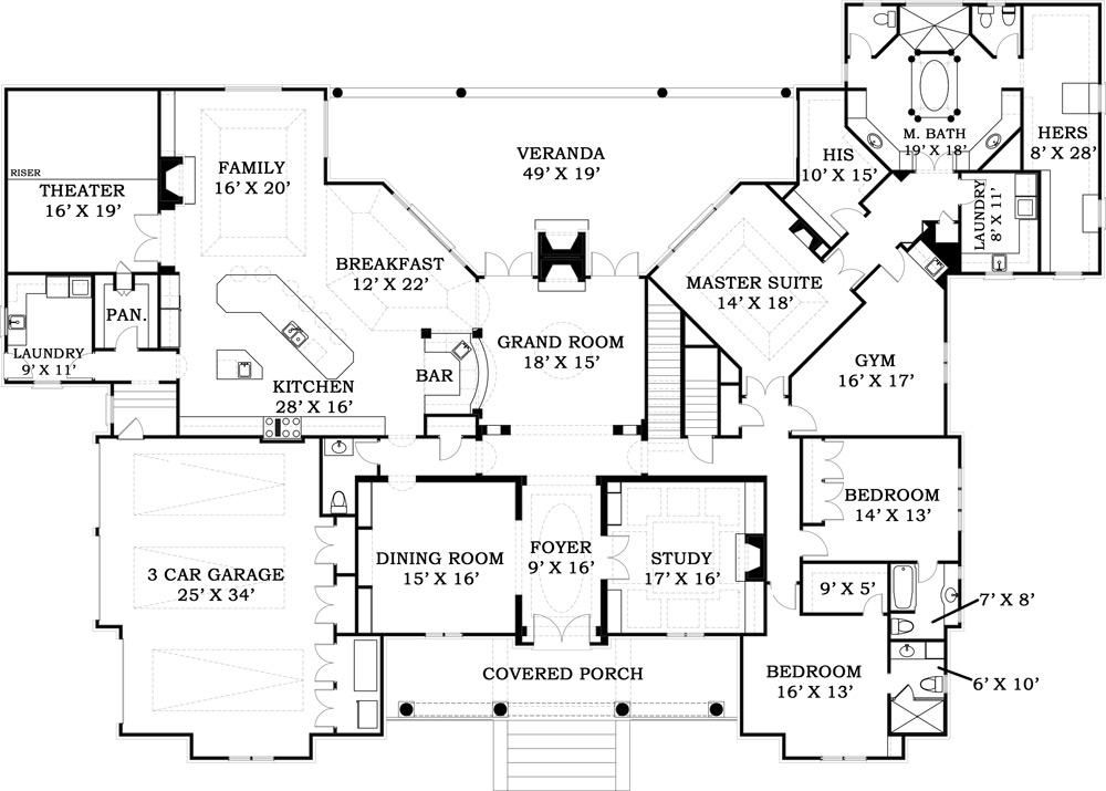 Lacrysta Place Ranch Floor Plans Expandable Floor