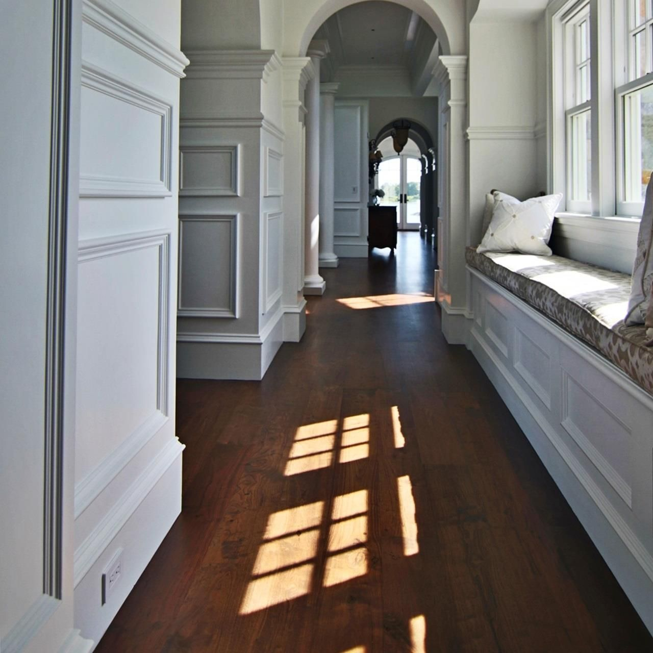 We Used A 7 Face Custom Graded Walnut Engineered Heavy Wear Layer We Supplied And Installed Wide Plank Hardwood Floors Wood Floors Wide Plank Hardwood Floors