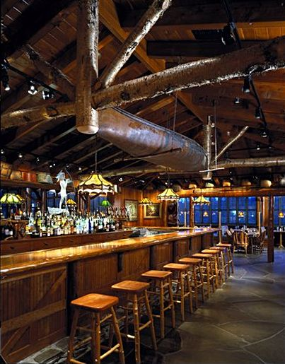 Tower Oaks Lodge Back Bar Rockville Md Rustic Lodge Pinterest