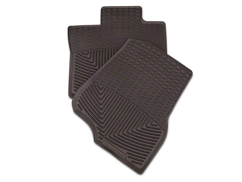 Weathertech All Weather Front Rubber Floor Mats Cocoa
