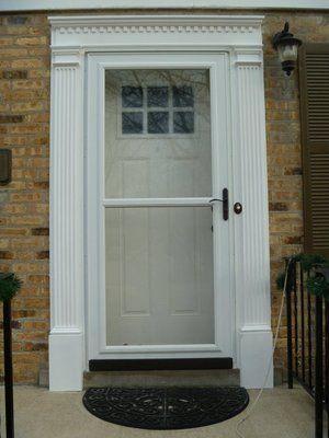 Door And Screen Fiberglass Entry Doors Door Design Entry Doors