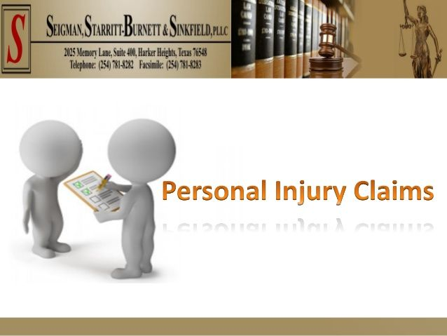 For Personal Injury Attorney In Killeen Tx Consider Seigman