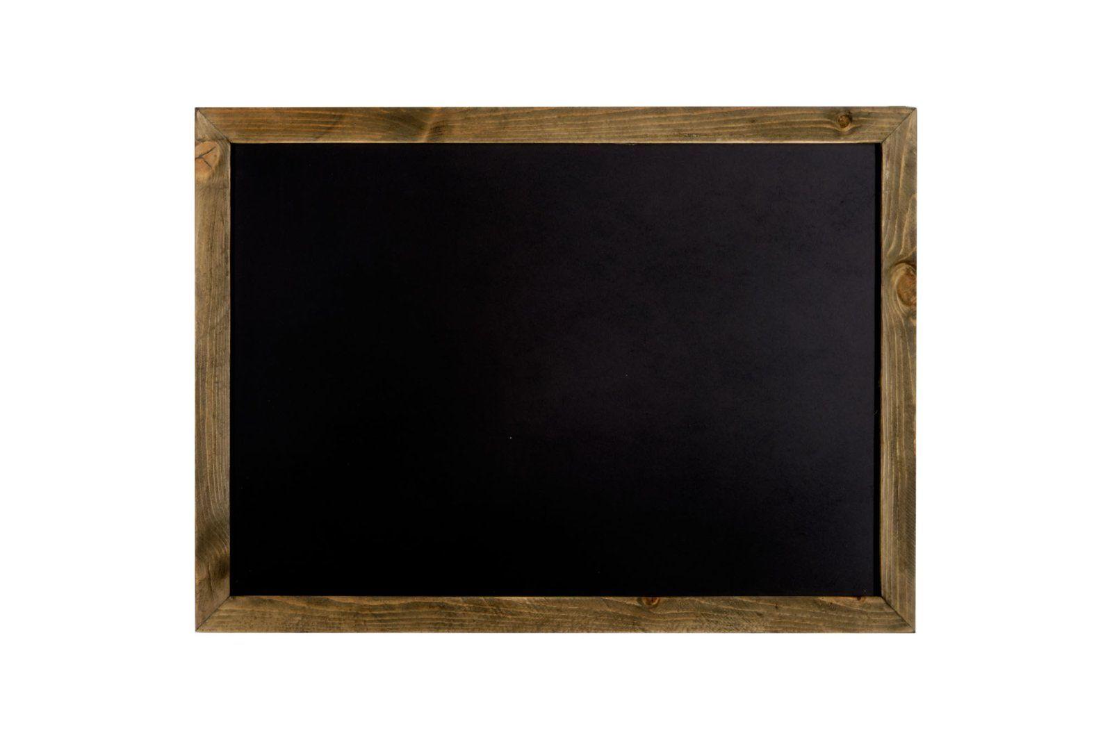 Wooden Edge Blackboard 71 x 50 x 1 cm