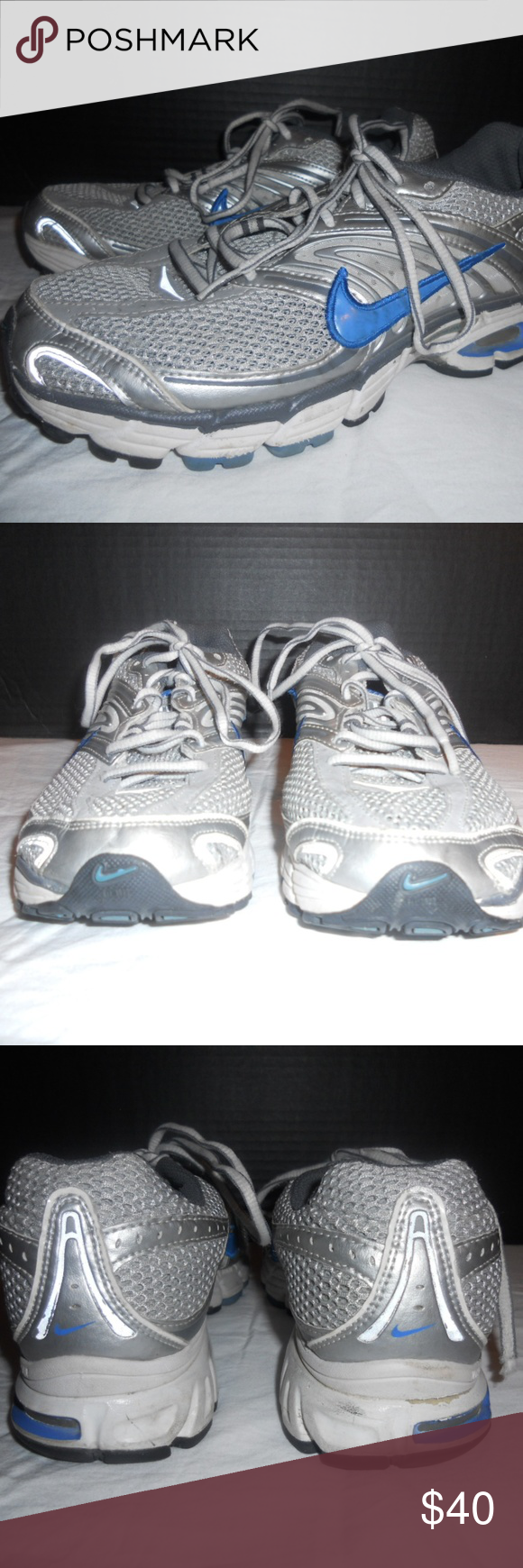 Municipios adolescentes frutas  Nike Air Max Moto 6 Women's Shoes Size 9 Nike Air Max Moto 6 Women's Shoes  Size 9 Grey and Blue. Nice looking shoes in… | Women shoes, Nike air max,  Wedding sneaker