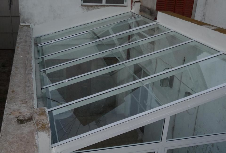 24 Techos de vidrio