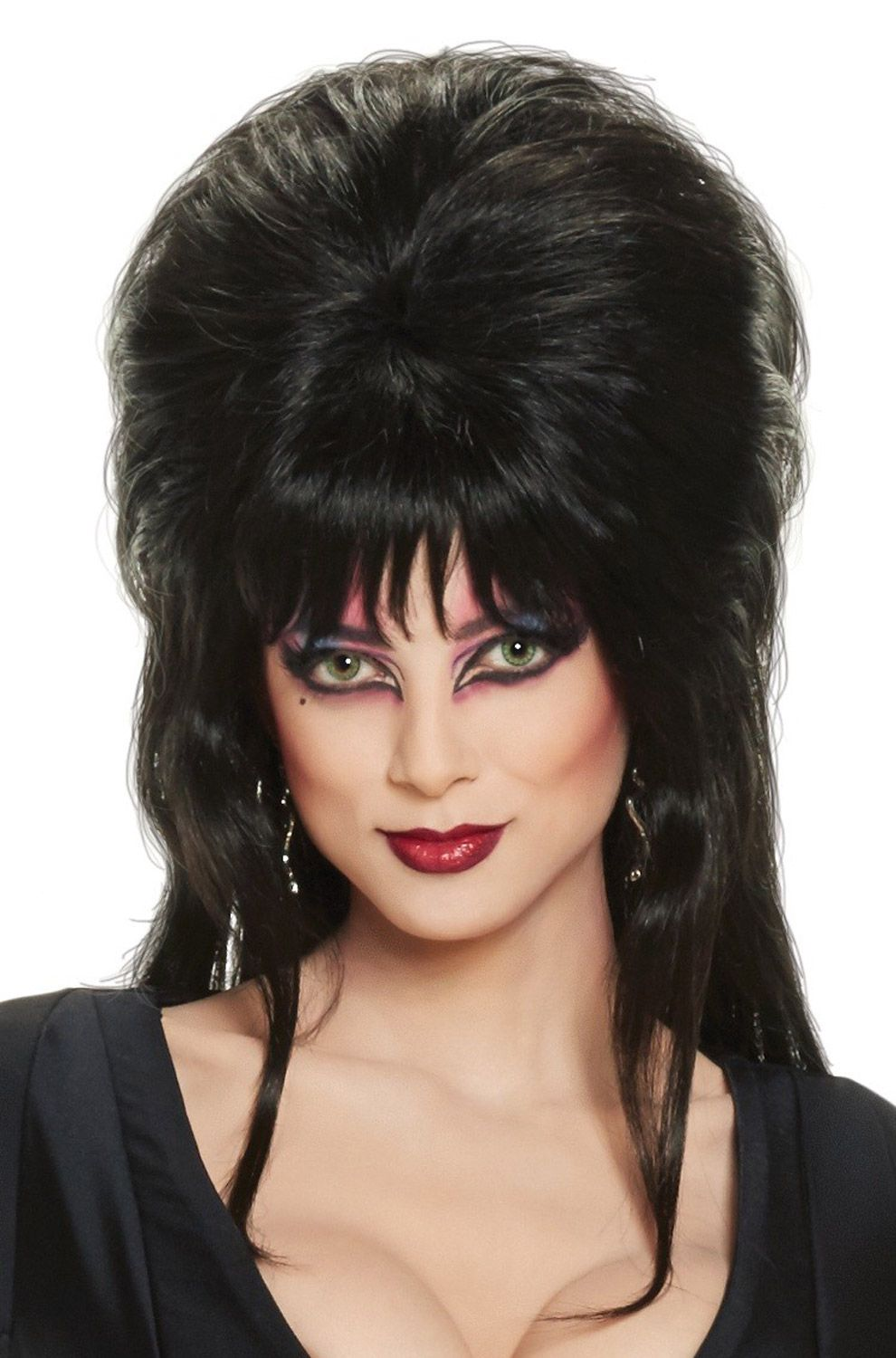 a73c00be3fa64b Check out the deal on Elvira Deluxe Adult Wig - FREE SHIPPING at  PureCostumes.com