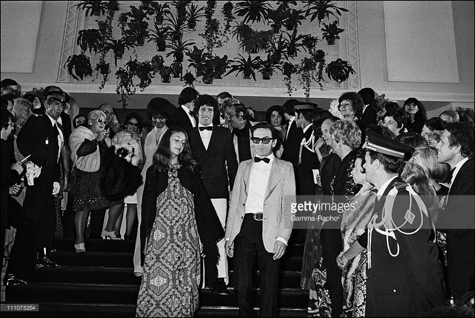 Pier Paolo ‪#‎Pasolini‬ ‪#‎Cannes‬ May 1974 ‪#‎GettyImages‬