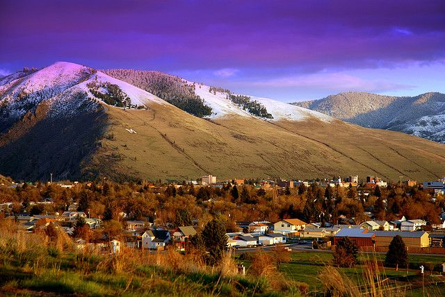 Why yes, I did grow up here - Missoula, MT