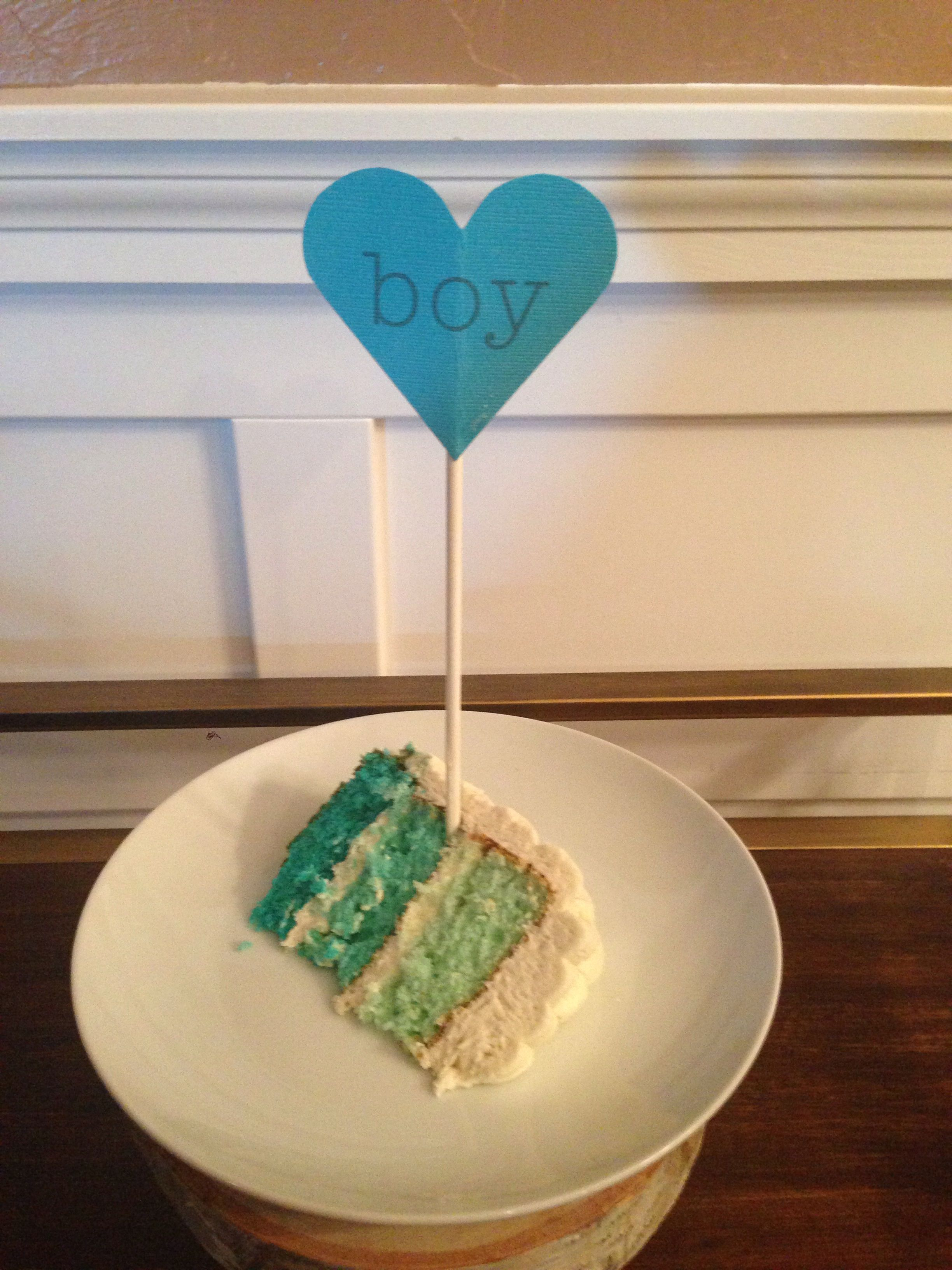 gender reveal part two.