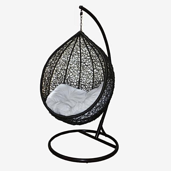 Outdoor Patio Hanging Pod Chair W Stand Swinging Chair Pod Chair Egg Chair