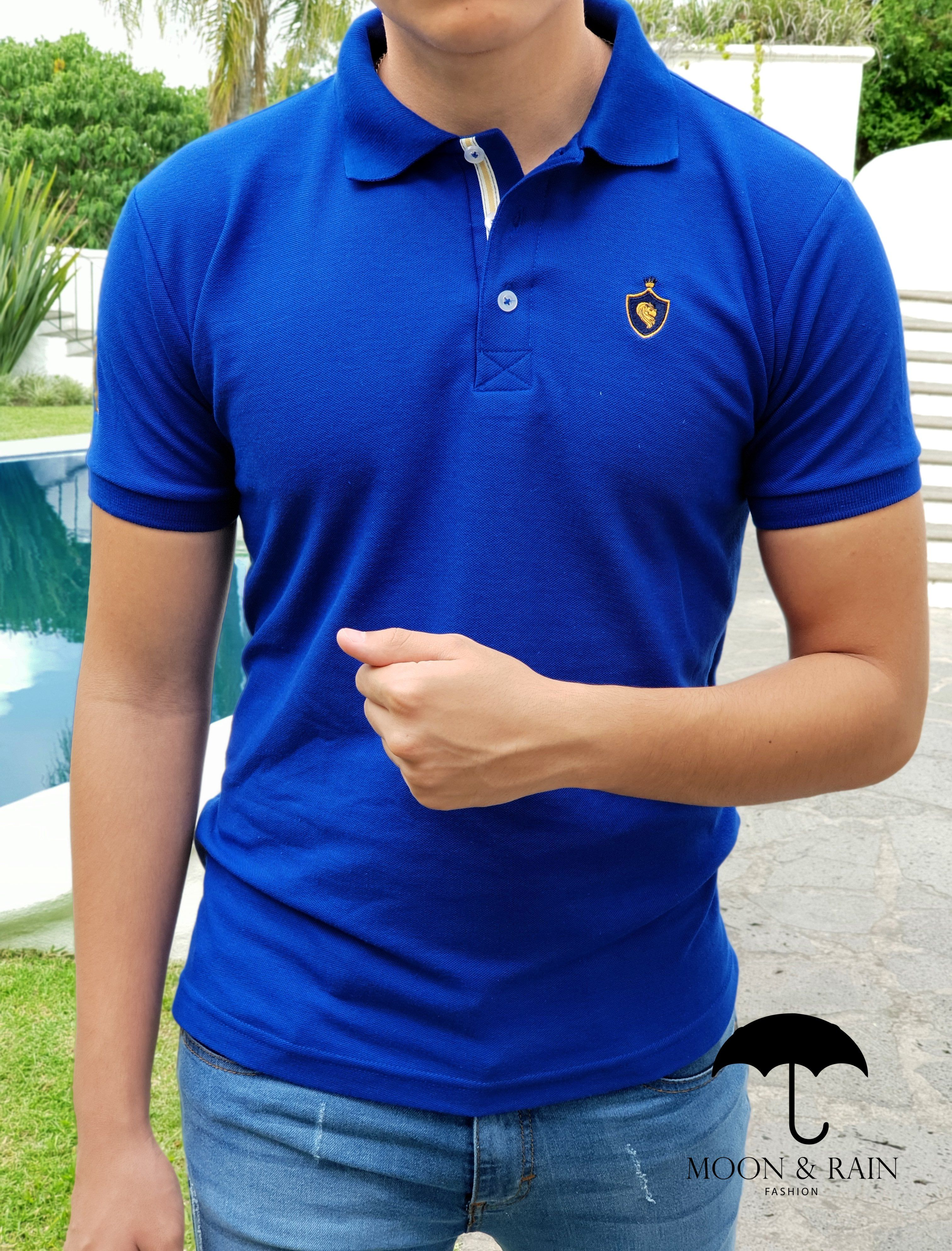 Outfit para hombre  Polo Slim Fit Marino Lisa a82a13978dd