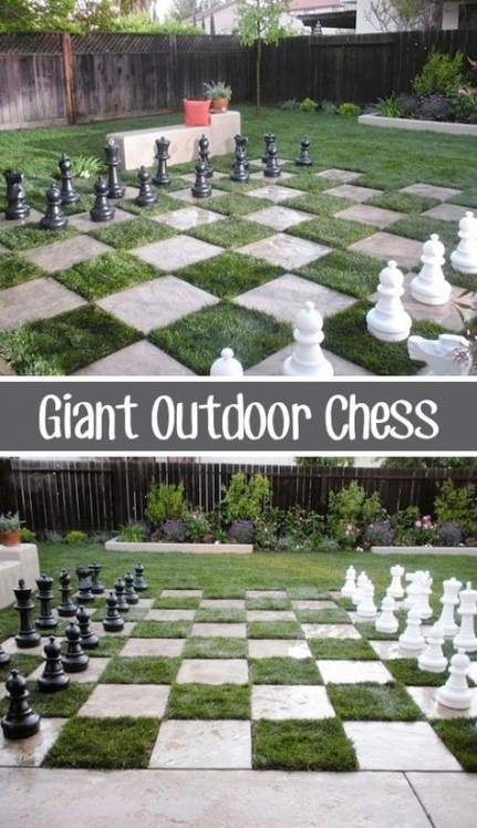 Trendy Giant Back Yard Games Chess Sets Ideas