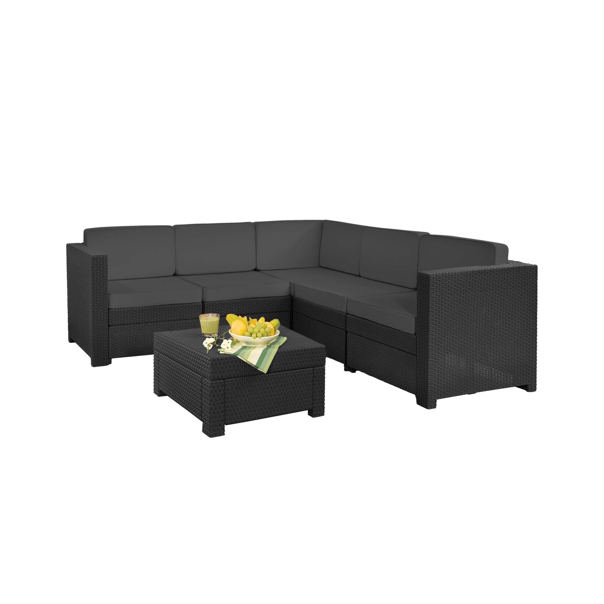 Rattan Style Provence Furniture Set, Patio & BBQs