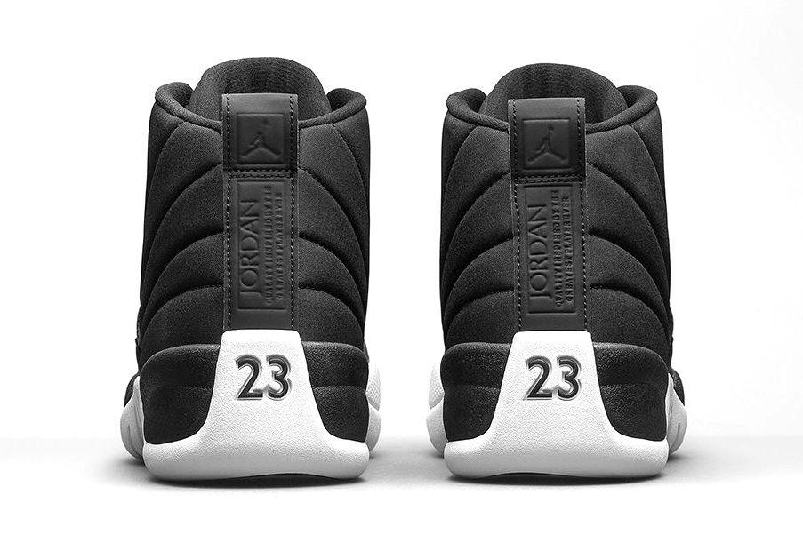 bf3c832ba09 The Air Jordan 12 Retro Gets Reworked With Waterproof Black Nylon ...