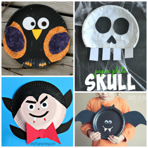 28++ Paper plate arts and crafts for halloween ideas in 2021
