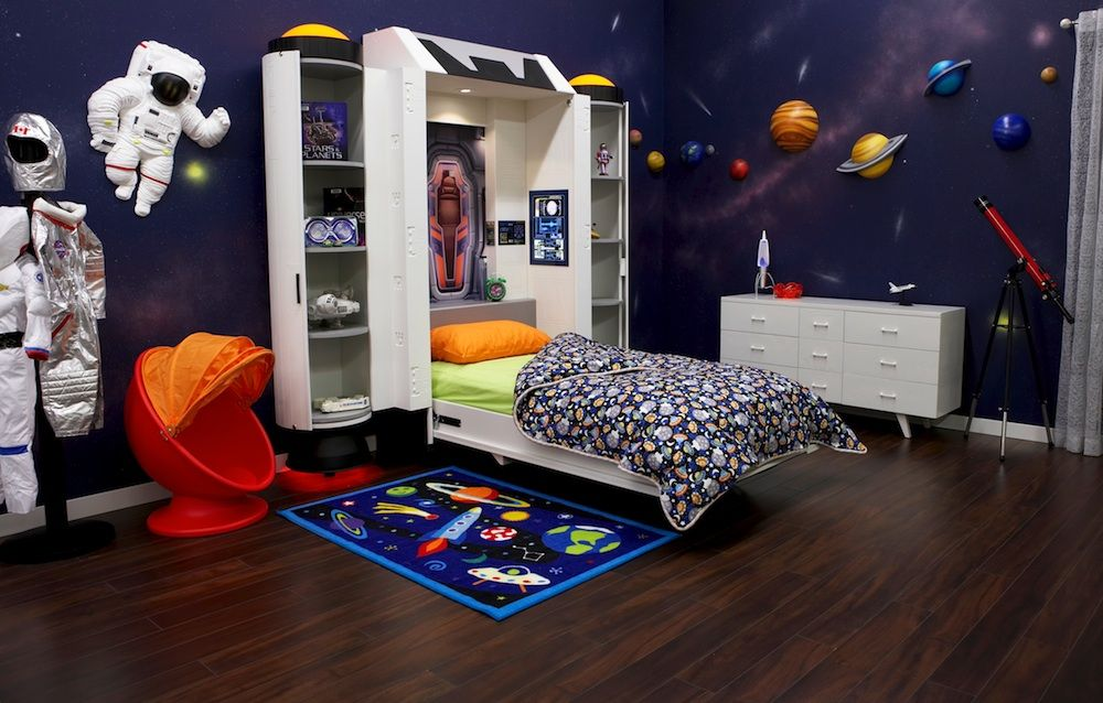 20 Wondrous Space Themed Bedroom Ideas You Should Try Outer