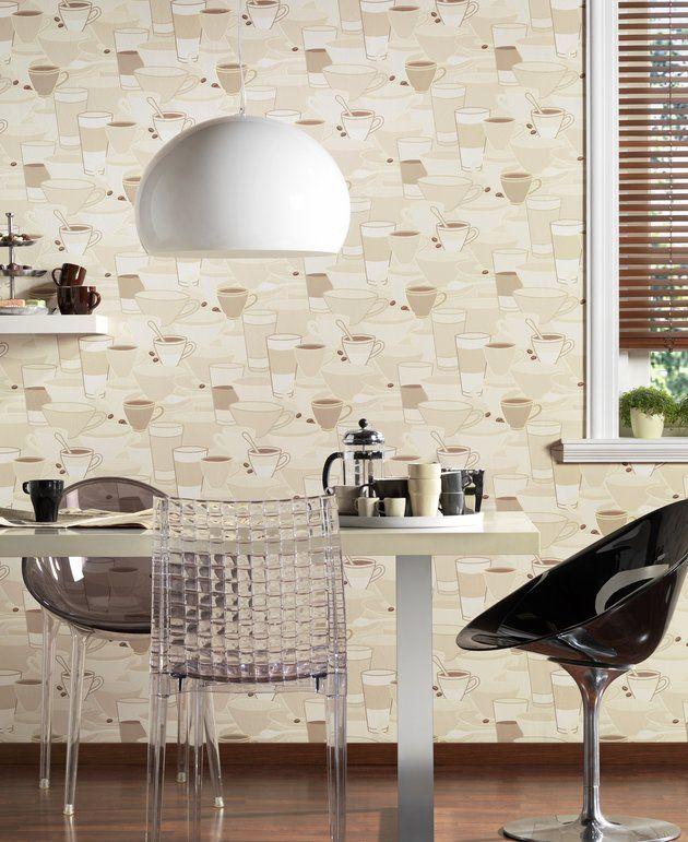 Tapete für die Küche Wohnen und Deko Pinterest - tapeten für die küche