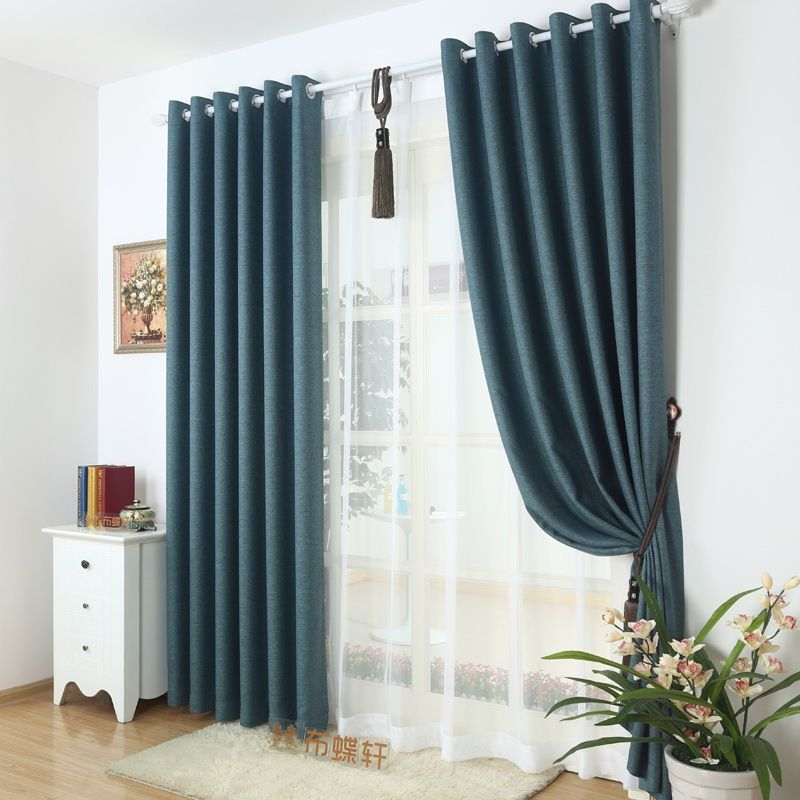 Full Blackout Curtains Thick Ready Made Panel Drapes Insolated