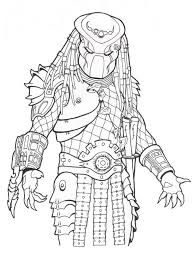 predator coloring pages # 2